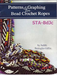 Patterns and Graphing for Bead Crochet Ropes by BeadworkBrasil