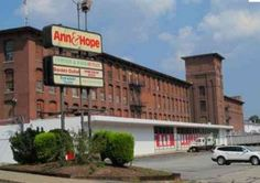 Ann & Hope department store in Cumberland, RI. It had an escalator for the shopping carts that fascinated me as a kid.