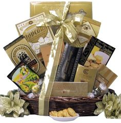 Great Arrivals New Year`s Gift Basket, New Year`s Delights