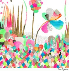 Laura Blythman — Limited Edition Print // RAINBOW JUNGLE