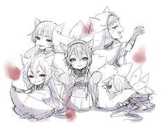 Touken Ranbu 狐三条