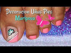YouTube Tiny Baby Animals, Manicure Y Pedicure, Toe Nails, Diana, Youtube, Beauty, Ideas, Work Nails, Templates
