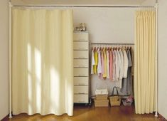 332 Best Closet Door Ideas Images On Pinterest In 2018 | Curtains For Closet  Doors, Hang Curtains And Hanging Curtains