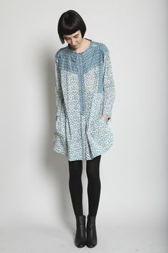 (Isabel Marant  ------   Oh, to be this thin.  To have this kind of 'cool factor' going on with this kind of style!
