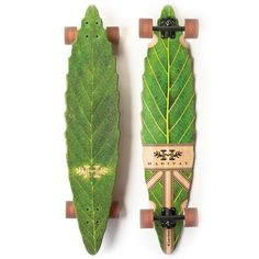 "Habitat - Leaf Lines 41"" Longboard  I'd get so down on this thing… so pretty!"