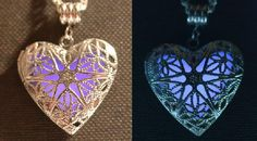 Violet Glow in the Dark Necklace. Starting at $8 on Tophatter.com!