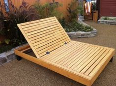 How To Build A Double Lounger