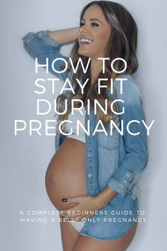How to Have a Belly Only Pregnancy Complete beginners guide to having a healthy and fit pregnancy. This guide includes tips on diet, exercise, first trimester, second trimester, third trimester… Pregnancy Information, Foto Baby, Pregnant Diet, Workouts For Pregnant Women, Pregnant Healthy Eating, Pregnant And Fit, 2 Months Pregnant Belly, Working Out While Pregnant, Workout Exercises