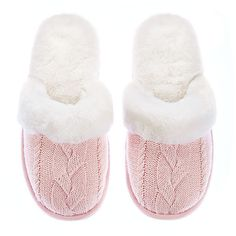 Victoria's Secret The Cozy Slipper ($30) ❤ liked on Polyvore featuring intimates, shoes, slippers, flats, pajamas, sleep and victoria's secret