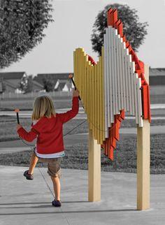 Outdoor Musical Equipment | Musical Playground Equipment