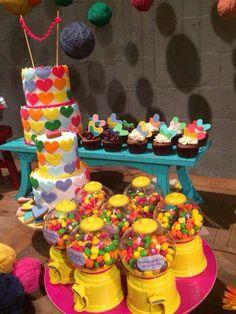 Babyshower, Colorful Party, Birthdays, Birthday Cake, Cool Stuff, Desserts, Wedding, Gabi, Food