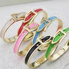 Belt Buckle Cuff Bracelets