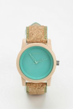 Sprout Cork Watch #urbanoutfitters