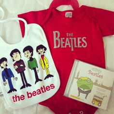 The Beatles Baby Clothes The Beatles I Am The Walrus Bodysuit