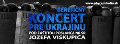 Koncert pre Ukrajinu pod záštitou poslanca NR SR Jozefa Viskupiča. Pozývame Vás na najbližší koncert Hilaris Chamber Orchestra s významným ruským dirigentom a klaviristom Alexejom Kornienkom, ktorý svoje umelecké majstrovstvo predvedie na koncerte ako dirigent a klavirista. Zakúpením vstupenky podporíte zbierku SOS Ukrajina, ktorého zriaďovateľom je Občianske združenie Človek v ohrození. Finančné prostriedky budú využité na podporu rodín trpiacich dôsledkami demonštrácií v Kyjeve.