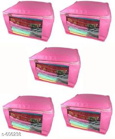 Checkout this latest Clothes Covers Product Name: *Large Non Woven Saree Cover (Pack Of 5)* Easy Returns Available In Case Of Any Issue   Catalog Rating: ★3.9 (1070)  Catalog Name: Attractive Multipurpose Organisers Vol 13 CatalogID_67777 C131-SC1625 Code: 472-606238-126