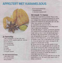 Appeltert met karamelsous