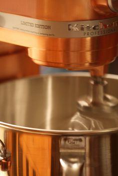Copper KitchenAid... *sigh*....