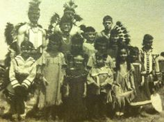 All of us! I'm on the end (right). Nanticoke Indian tribe.