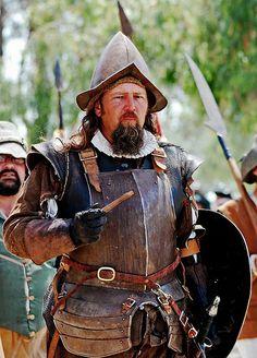 Irwindale, CA Renaissance Pleasure Faire 2009 Conquistador, Aztec Culture, Larp, Medieval Costume, Renaissance Fair, Medieval Fantasy, 17th Century, Spanish, Military