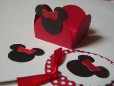 Kit festa Minnie vermelha - 120 itens | Rosa Chá Festas e Decoração | 37309E - Elo7