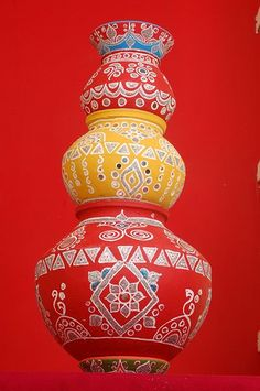 Indian decorated Matka | Flickr - Photo Sharing!