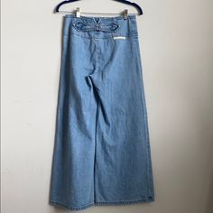 Marc Jacobs Jeans | Marc Jacobs Culottes | Poshmark Denim Culottes, Colored Jeans, Marc Jacobs, Wide Leg, Mom Jeans, Polka Dots, Silhouette, Legs, Outfits