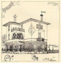 Villino Broggi Milano, via Faruffini 20 1920-1926