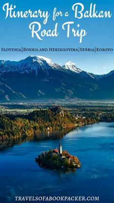 Roadtrip fan? Here is the first part of our epic Road Trip around the Balkans! Read more for detailed information about places to stop in Slovenia, Bosnia and Herzegovina, Serbia and Kosovo. #balkans #roadtrip #slovenia #bosnia #serbia #kosovo