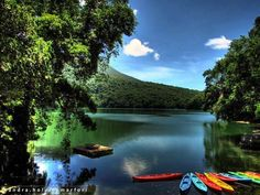 """The Switzerland of the Orient"" - Bulusan Lake, Bicol."