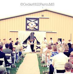 Country - Vintage Barn Wedding - Cedar Hill Farm - Hernando,MS - www.gocedarhillfarm.com