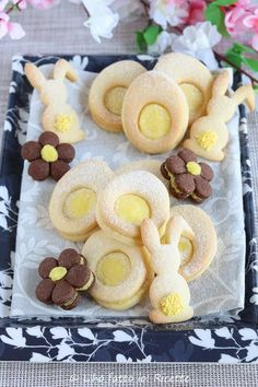 Easter Recipes, Baby Food Recipes, Cookie Recipes, Girl Scout Cookies, Easter Cookies, Shortbread Cookies, Biscuit Recipe, Mini Desserts, Food Festival