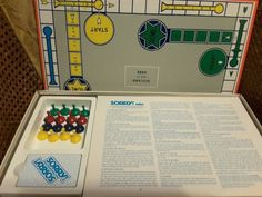 """1972 Parker Brother's, """"SORRY"""", Complete Board Game"""