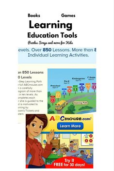 Best Online Educational Tools, games and activties for Kids Kids Learning Computer, Computer Games For Kids, Learning Tools, Learning Activities, Activities For Kids, Best Books To Read, Good Books, Summer Crafts For Kids, Kids Crafts