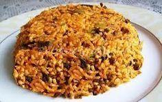 Receta de ARROZ ARABE (El verdadero) Kitchen Recipes, Cooking Recipes, Rice Recipes, Healthy Recipes, Arabian Food, Rissoto, Good Food, Yummy Food, Lebanese Recipes
