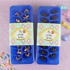 baby shower ideas Baby Shower Parties, Baby Shower Games, Shower Party, Baby Boy Shower, Shower Time, Future Baby, Ice Cubes, Fun Baby, Babyshower