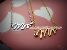 Hey, I found this really awesome Etsy listing at http://www.etsy.com/listing/123122707/the-mrs-necklace-come-with-chain-and