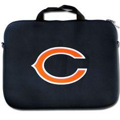 Chicago Bears NFL Neoprene Laptop Case