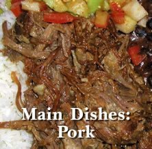 How to Make the Best Cuban and Spanish Main Dishes:  PORK