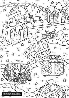 Free Coloring Pages, Coloring Sheets, Coloring Books, Mandala Coloring, Christmas Colors, Diagram, Xmas, Gifts, Writing