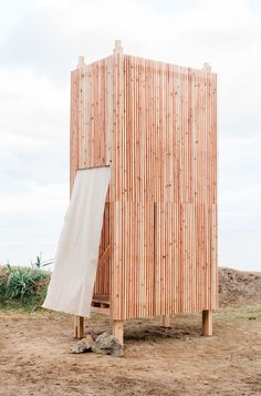 Image 9 of 17 from gallery of RÉVELER / Collective Camposaz. Photograph by Filipa Couto Walk Architecture Model Making, Architecture Design, Structures Gonflables, Temporary Structures, Mother Art, Amazing Buildings, Master Plan, Exterior Design, Tiny House