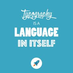 Typography is a language in itself #typography #design #trends #2016