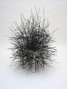 object Chiharu Shiota  (1972 Born in Osaka, Japan Lives and works in Berlin).
