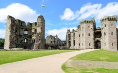 """Ahead of his forthcoming television series, historian Dan Jones visits six of the best fortresses in the British Isles -- On the long drive into Wales to see my grandparents, back when I was about seven years old, the sight of a castle rising out of the thicketed southern Welsh countryside was a sign that we were, finally, """"nearly there"""". The road to one grandmother's house took us past Raglan Castle in Monmouthshire: built in the 15th century as the great, squat, grey stone seat of the…"""