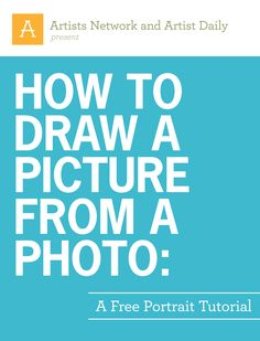 Learn how to draw a portrait from a photo with this free tutorial to download.