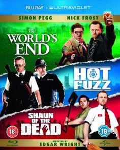 The Three Flavours Cornetto Trilogy Blu-ray 2004 Region Free: Amazon.co.uk: Simon Pegg, Nick Frost, Edgar Wright: DVD & Blu-ray