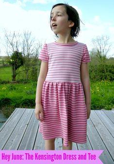 Kensington Dress and Tee pdf pattern by Hey June Handmade