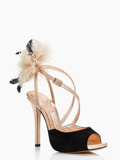 CARLTON - kate spade new York Utterly ridiculous, the perfect NYE shoe.