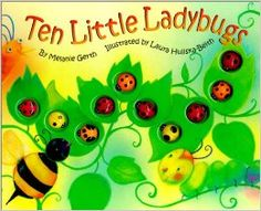 Ten Little Ladybugs: Melanie Gerth, Laura Huliska-Beith: 0038332197778: Amazon.com: Books