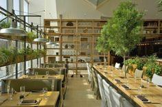 JG Domestic Americana Restaurant Serves Up a Living Wall of Herbs in Philadelphia | Inhabitat - Sustainable Design Innovation, Eco Architect...